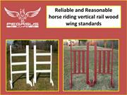 Buy Angle Lattice Wing Standard for horse riding