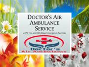 Emergency Patient's Care by Air Ambulance Service in Varanasi