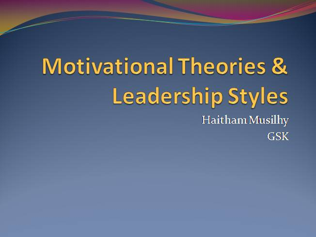 thesis on leadership styles Leadership style has been shown to be a major factor in the effectiveness of the organization, and different leadership styles are sometimes more effective in different situations dubrin, ireland, and williams (1989) note that effective organizational leaders are generally consistent in the way.