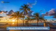 vacation rentals in hollywood beach fl