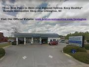 Kestner Automotive: Your Best Place have Exhaust System Keep Healthy