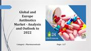 Global and Europe Antibiotics Market - Analysis and Outlook to 2022