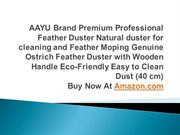 AAYU Brand Premium Professional Feather Duster - 40 cm