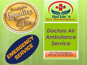Immediate Care by Air Ambulance Service from Varanasi