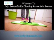 Boston Maids service