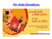 hiv aids donations