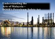 DOSH PETROLEUM (SAFETY MEASURES) ACT 1984 [ACT 302]