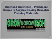 Prominent Source to Acquire Quality Cannabis Training Materials