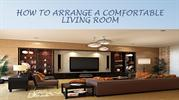 4 Ways you can arrange a comfortable living room