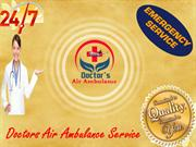 Quick Action by Air Ambulance Service from Siliguri