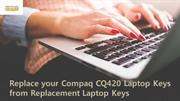 Replace your Compaq CQ420 Laptop Keys from Replacement Laptop Keys