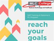 SAP Training SAP Classroom base Training Mlc College Canada