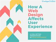 How A Web Design Affects User Experience