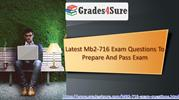 Latest Mb2-716 Exam Questions To Prepare And Pass Exam