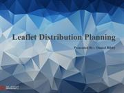 Leaflet Distribution Planning