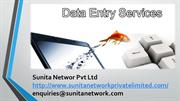 Data Entry Project || Sunita Network Pvt Ltd ||Data Entry Services