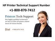 Free Support 1800 870 7412 HP Printer Technical Support Number