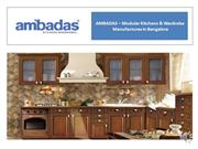 AMBADAS – Modular Kitchens & Wardrobe