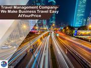 Travel Management  Company- We Make Business Travel Easy