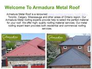 Best Metal Roofing  Company and Suppliers - Armadura Metal Roofing
