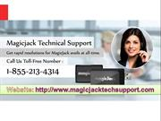 Magicjack Technical Support 1-855-213-4314
