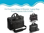 Laptop Bags In India