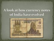 A look at how currency notes of India have evolved