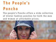 Waterproof Festival | The People's Poncho