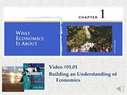 #01.01 Building an Understanding of Economics