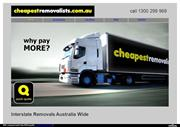 Interstate Fast Furniture Removals from Sydney to Melbourne