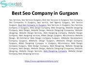 Best Web Design and Seo Services in Gurgaon
