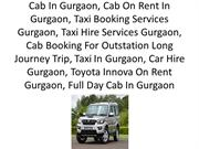 Book Cab Gurgaon, Cheap Tourist Cab Service in gurgaon