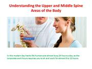 Upper Back Pain Treatment With general Process