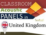 Classroom acoustic panels in United Kingdom