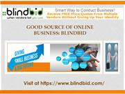 Attain free business to business services by Blindbid