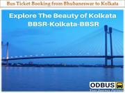 Bus Ticket Booking from Bhubaneswar to Kolkata