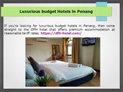 Family suite hotel Penang