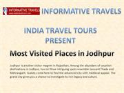 Most Visited Places in Jodhpur