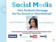 Facebook New Home Page
