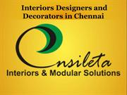 Interior Designers and Decorators in Chennai