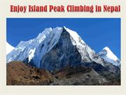 Enjoy Island Peak Climbing in Nepal
