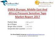 EMEA (Europe, Middle East And Africa) Pressure Sensitive Tape Market R