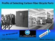 Profits of Selecting Carbon Fiber Bicycle Parts