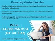 Call at Kaspersky Customer Support Phone Number UK 0800-756-3354