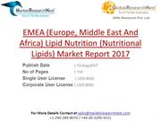 Lipid Nutrition (Nutritional Lipids) Market Report 2017