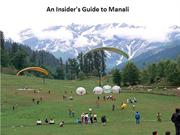 An Insider's Guide to Exploring Manali