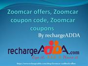 Zoomcar offers, Zoomcar coupon code, Zoomcar