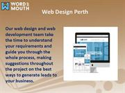 Web Design Perth | Word of Mouth Agency