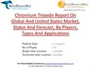 Chromium Trioxide Report On Global And United States Market, Status An